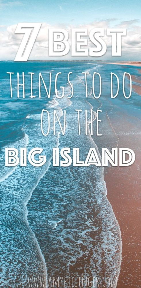 Planning a trip to the Big Island of Hawaii? Here are the 7 best things to do on the Big Island. Looking for a Hawaii travel agent? I'd love to help you plan your island adventure. #bigisland #bigislandhawaii #hawaiivacation #whattodoinhawaii #thingstodoinhawaii