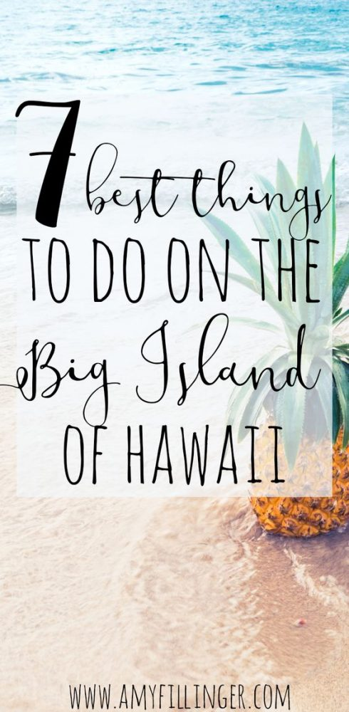 The Big Island of Hawaii is AMAZING, it's actually my favorite island! If you want to know the best things to do on the Big island, start here! #hawaiitravelagent #travelagent #hawaiivacation #hawaiitravel #bigisland #bigislandofhawaii #hawaii