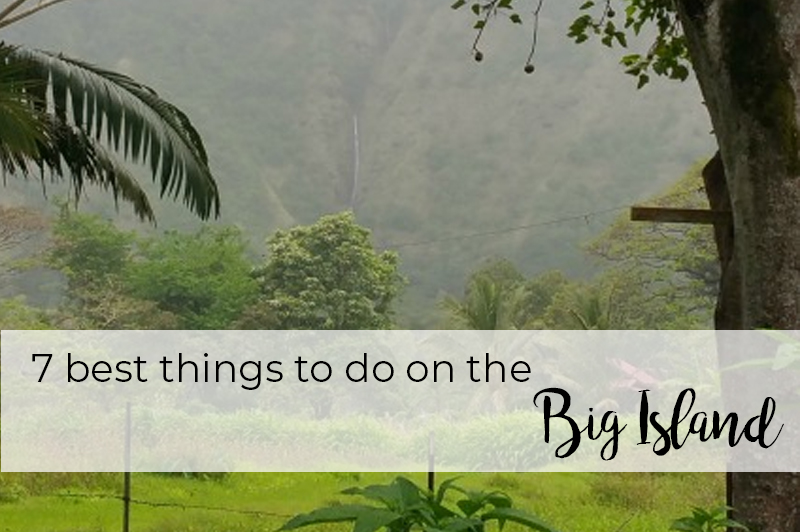 best things to do on the big island