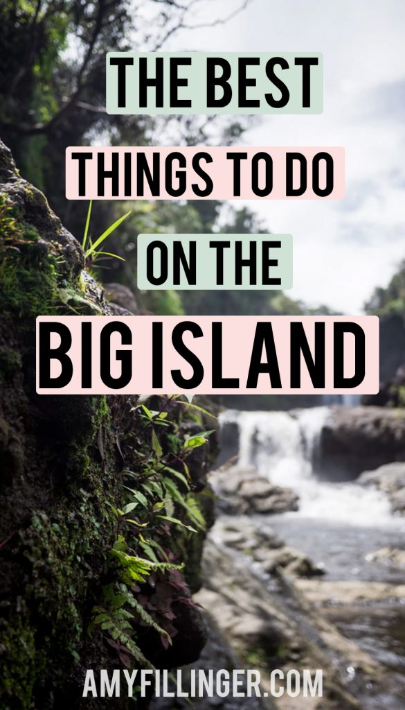 the best things to do on the Big Island