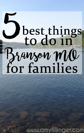Top 5 best things to do in Branson for families. Tips from a former local on the best activities Branson has to offer.