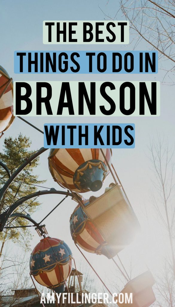the best things to do in Branson with kids
