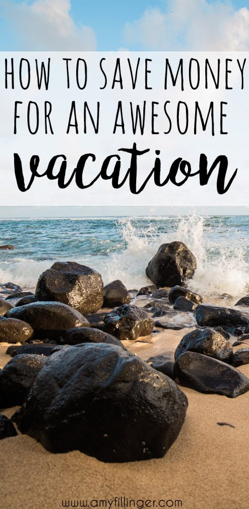 This is genius! How to save for a vacation. The simple idea of budgeting to make travel a priority. If you're wondering how to save for a vacation or how to afford a vacation, check this out!
