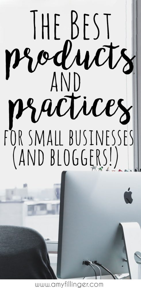 Finally! Make running your business or blog simpler with these EASY practices and simple products (PS some of them are free!!)