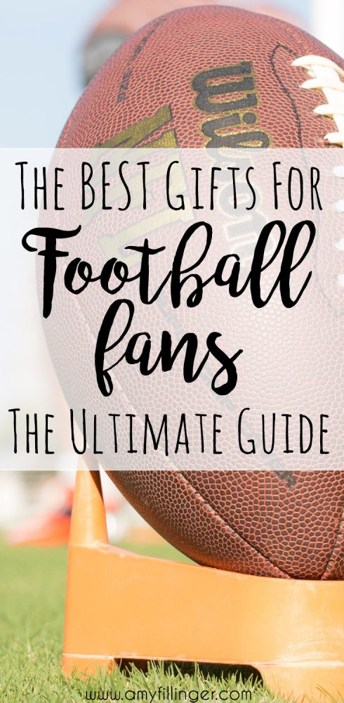I finally found it! The best football gift ideas. This post has the best gift guide for football fans that I have found anywhere. If you're looking for a gift for a football fan, check it out ASAP!