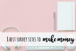 best survey sites to make money