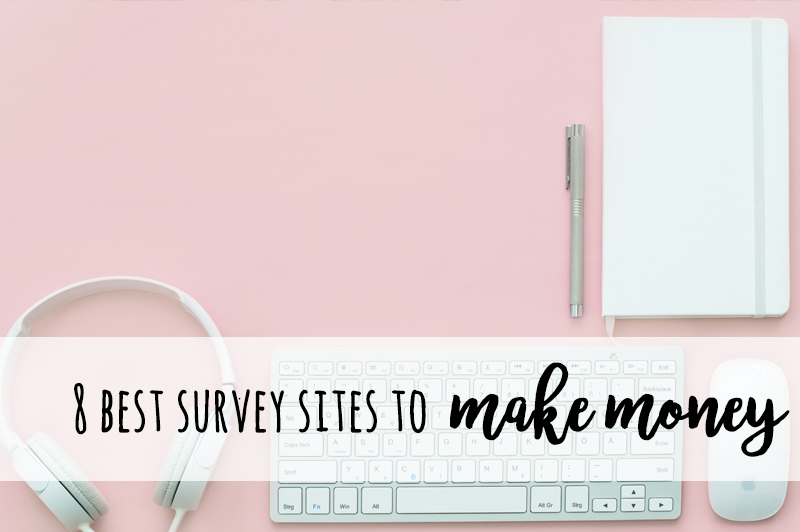 8 top survey sites to make money