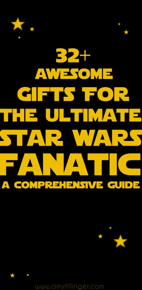 This is AWESOME! Star Wars gift ideas for all the Star Wars fans on your list. Over 32 ideas (and links to more!) for the ultimate Star Wars fan.