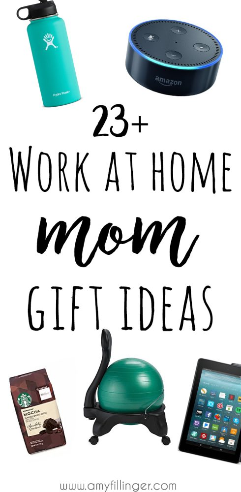 Looking for a GREAT gift idea for a work at home mom? This work at home mom gift guide will help you find it! Work at home mom gift ideas for the special WAHM in your life!