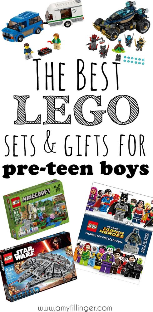 A LEGO set is always a great gift! They encourage creativity, and they're fun! This gift guide is perfect if you're looking for the best Lego set for a preteen boy, but have no idea where to start! All of these sets are preteen-boy approved!
