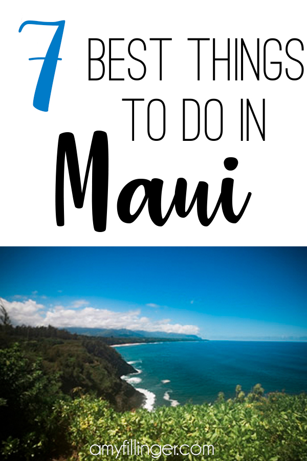 Planning your next Maui vacation? Here are our top 7 things to do in Maui. If you're looking for the best things to do in Maui, it may actually surprise you! #mauivacation #hawaiivacation #bestthingstodoinmaui #thingstodoinmaui #maui #traveltips #travelhacks #travelideas