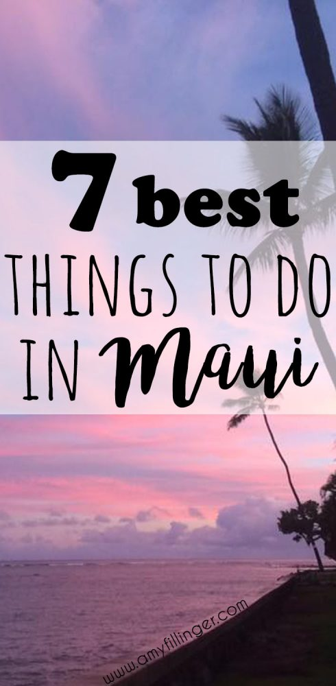 This is what I've been looking for! The 7 best things to do in Maui. There is so much to do in Maui, you definitely don't want to miss any of these.