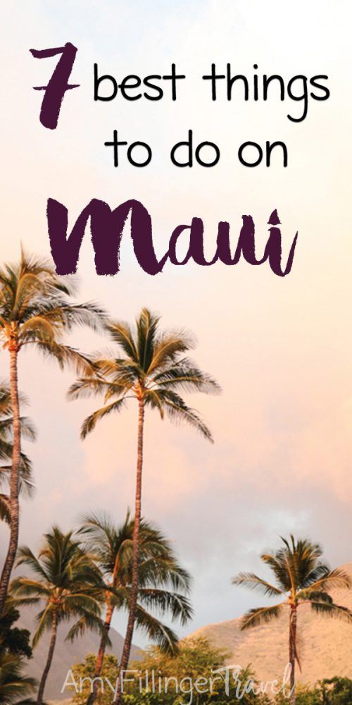 The 7 best things to do on Maui. There are so many amazing things to do on your Maui vacation, but these are some of my favorites. #hawaiitravelagent #travelagent #hawaiivacation #mauivacation #findatravelagent #mauitravel #mauihawaii #thingstodoinmaui #thingstodoinhawaii