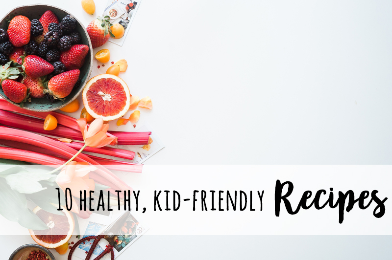 10 Frugal and healthy recipes your kids will LOVE! Plus a free meal planning printable.