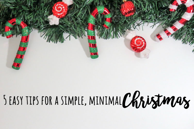 Everything you ever wanted to know about having a simple Christmas