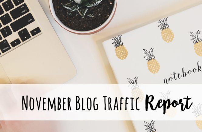 November blog traffic report
