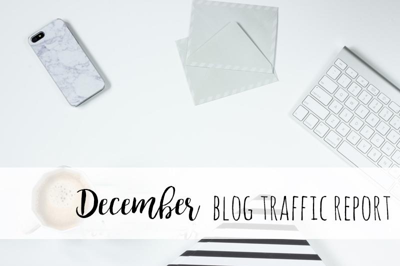 December Blog Traffic Report + Stats and January Goals