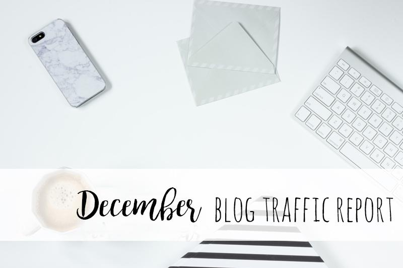 December blog traffic report