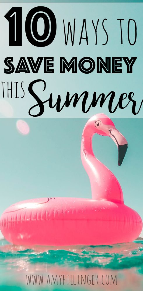 I am so excited about this! Summer is coming, who is ready? Are you wondering how to save money in the summer? Here are 10 ways to save in the summer on activities, bills, and so much more!