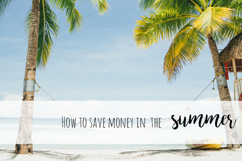 how to save money in the summer
