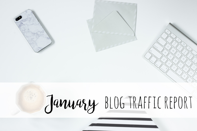 What to do when Pinterest has an update | January Blog Traffic Report