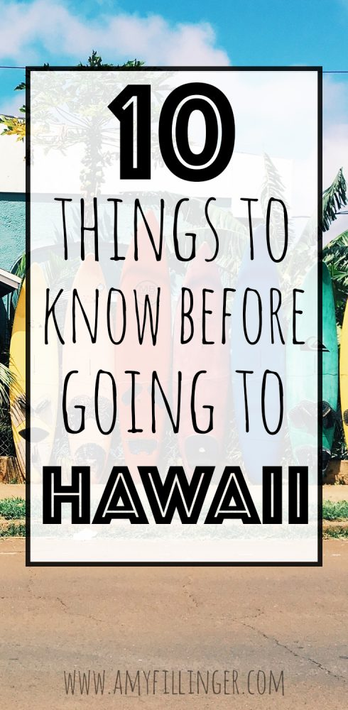 Are you planning a Hawaii vacation? Here are 10 things to know BEFORE going to Hawaii. We love Hawaii and visit as often as we can. Hawaii is a beautiful place but some things are slightly different than the mainland (usually for the better!) Here is what you need to know about traveling to Hawaii!