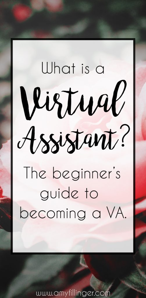 What is a Virtual Assistant? What do Virtual Assistants do? How can I become a VA? If you're asking yourself any of these questions, you need to check out this post!
