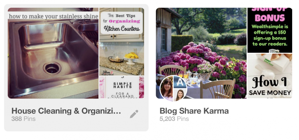 Pinterest board best practices