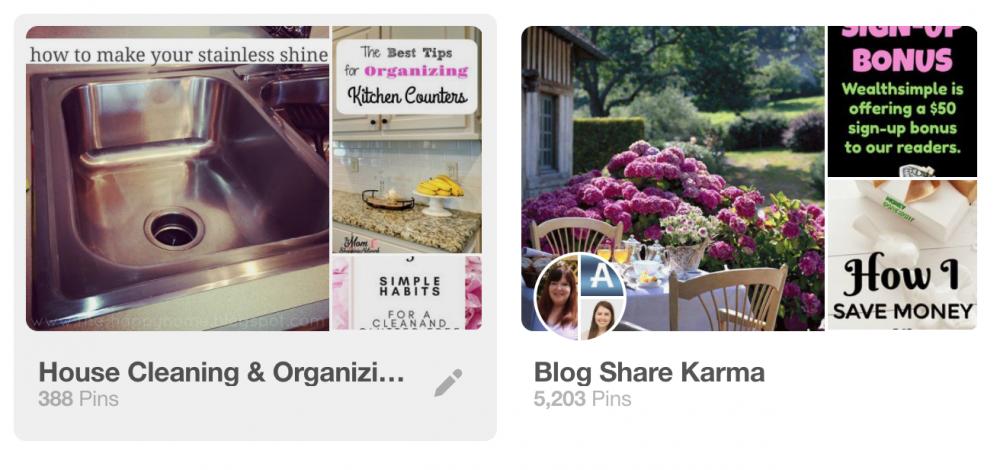 Pinterest board best practices