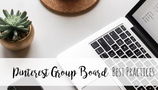 Pinterest and Facebook group best practices