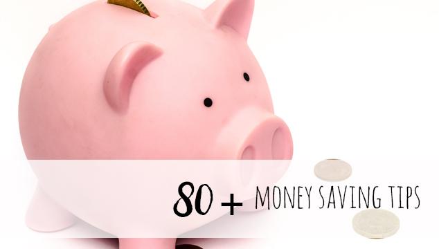 80+ genius tips to save money