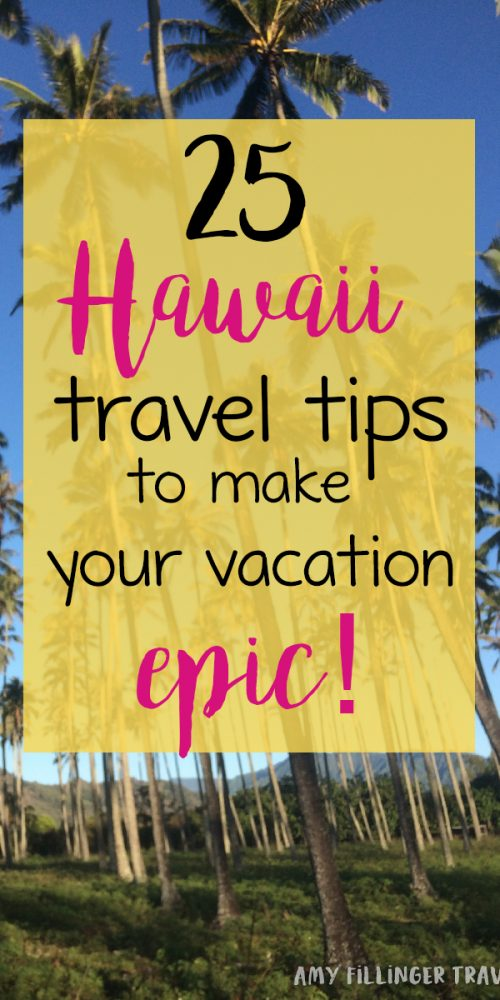 Planning a trip to Hawaii? You don't want to miss these 25 Hawaii travel tips. Tips from a Hawaii travel agent - you don't want to miss it! #hawaiitraveltips #hawaiitravel #hawaiitravelagent #travelagent #hawaiivacation #thingstodoinHawaii #whattodoinhawaii