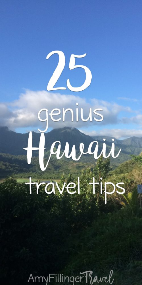 These 25 genius Hawaii travel tips will help you plan an epic Hawaii vacation. Written by a travel agent specializing in Hawaii vacations and Hawaii destination weddings #hawaiitravelagent #travelagent #hawaiivacation #hawaiitraveltips #hawaiitravel #lethawaiihappen