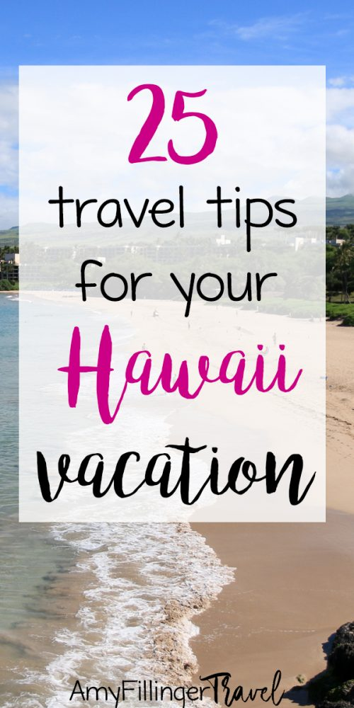This is exactly what I was looking for! 25 Hawaii travel trips to plan an epic Hawaii adventure. #hawaiitravel #hawaiitravelagent #travelagent #amyfillingertravel #hawaiivacations #traveltipsforHawaii #hawaiihoneymoon