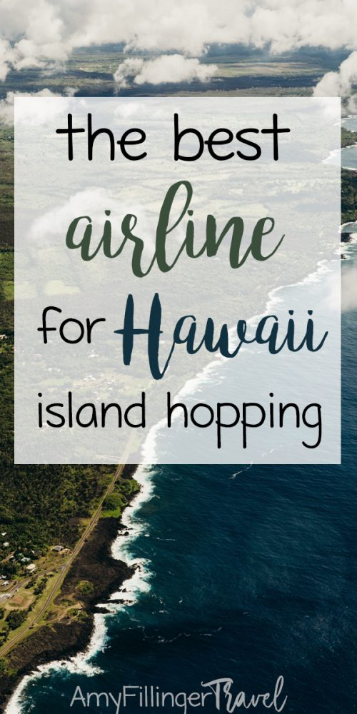 What is the best airline for island hopping in Hawaii? If your Hawaii vacation involves multiple islands, you'll need to take an interisland flight. Which one should you choose? Read this to find out! #islandhopping #islandhoppinghawaii #hawaiitravelagent #interislandflightshawaii #mokuleleairlines #hawaiianairlines #hawaiivacation