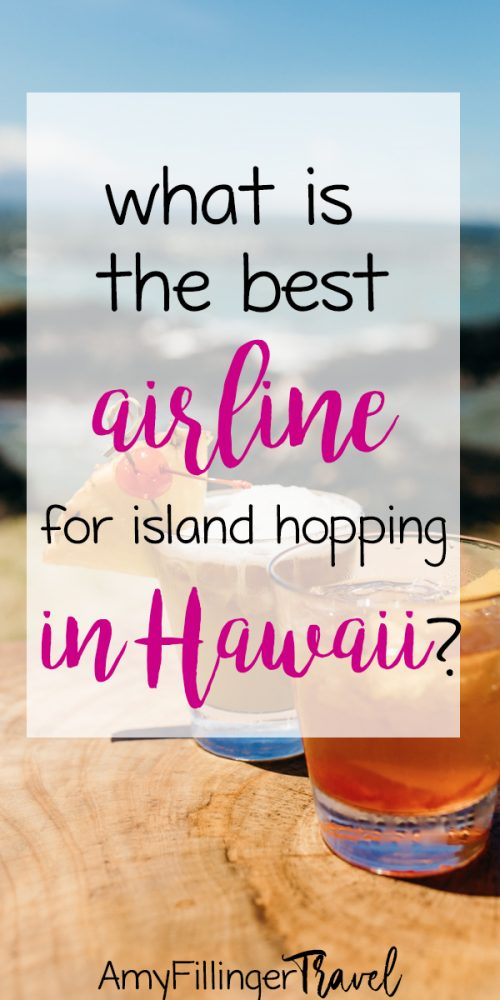 If you're planning your Hawaii vacation, you need to read this! What is the best airline for for island hopping in Hawaii? If you plan to visit multiple islands, you'll need need an interisland flight. #hawaiitravelagent #travelagent #travelagenttips #hawaiitravel #hawaiitips #hawaiivacation #visitHawaii #hawaiitravelideas