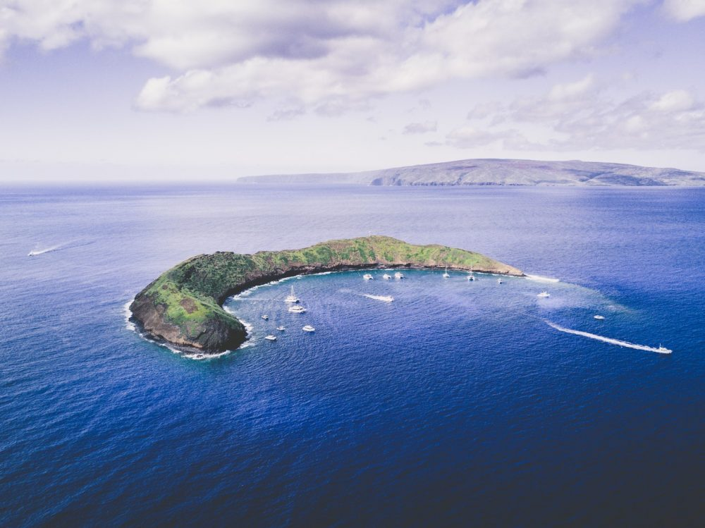 Molokini Crater is a must-see on Maui! Check out the best Hawaii island to visit.