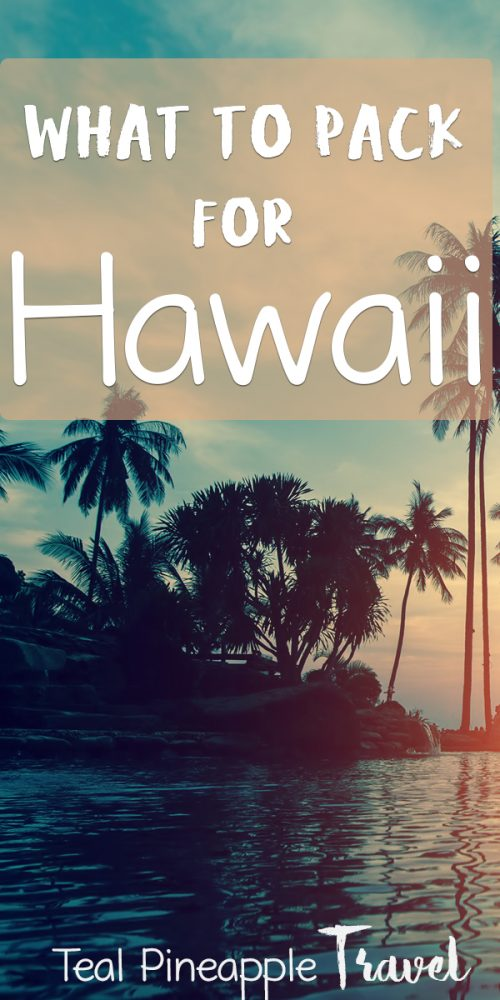 The ultimate Hawaii packing list. Planning a Hawaii vacation and trying to figure out what to pack? Use these tips from a Hawaii Travel Agent to figure out exactly what to pack for Hawaii. #hawaiipackinglist #hawaiipackingguide #hawaiitraveltips #hawaiitips #hawaiitravelagent