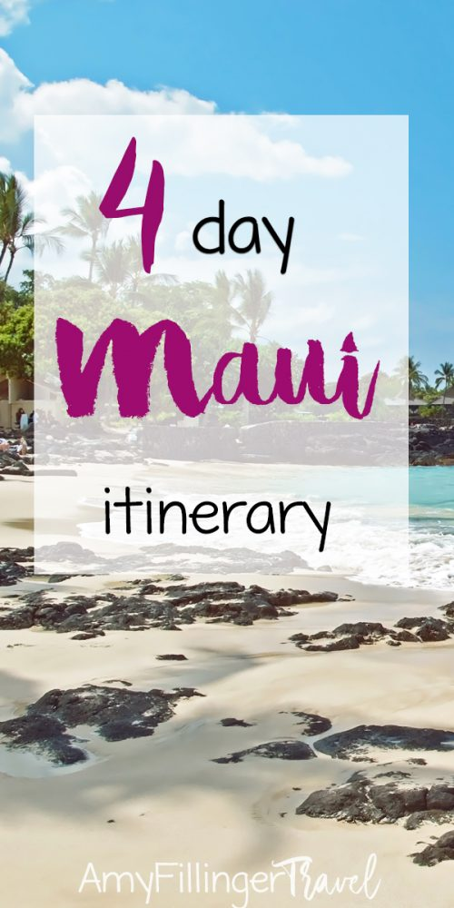 Are you looking for the perfect Maui itinerary? If you only have a short amount of time on Maui, you have to make the most of it! This 4 day Maui itinerary will help you plan the perfect trip to Maui. #mauivacation #mauitrip #hawaiivacation #mauitravelagent #hawaiitravelagent #travelagent #findatravelagent #mauihawaii #hawaitraveltips