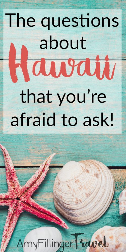 These are the Hawaii questions that you're afraid to ask. Hawaii FAQ from a Hawaii travel agent who has heard it all! #hawaiifaq #hawaiitips #hawaiitravel #hawaiitravelagent #hawaiiquestions #travelagents