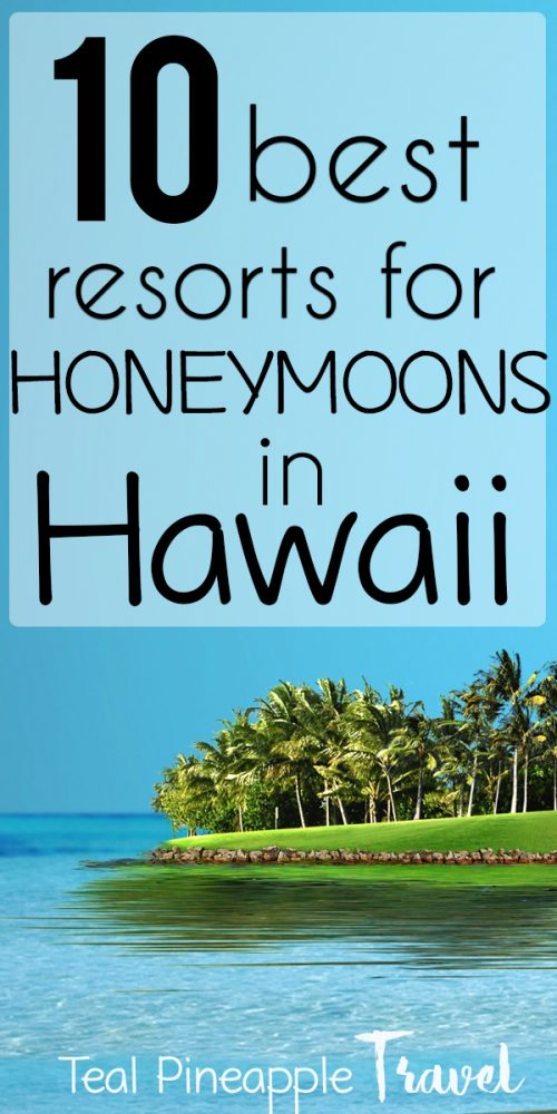 Looking for the BEST honeymoon resorts in Hawaii? This list was compiled by a Hawaii travel agent specializing in honeymoons, so you're in the right place. If you want to plan the perfect Hawaii honeymoon, read this first. #hawaiihoneymoon #honeymooninhawaii #hawaiitravelagent #mauihoneymoon #kauaihoneymoon #oahuhoneymoon #lanaihoneymoon #bigislandhoneymoon #travelagenthawaii
