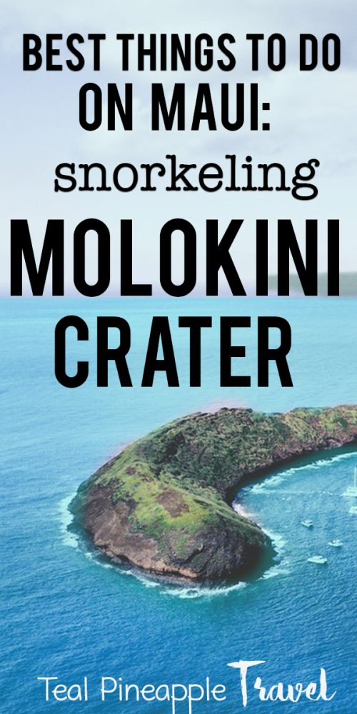 Snorkeling Molokini Crater: Is it worth it? Looking for the best things to do on Maui? Thinking of snorkeling Molokini Crater? Is this one of the best things to do in Maui? Read my review to find out more #maui #thingstodoinmaui #molokinicrater #hawaiitravelagent #mauitravelagent #thingstodomaui #thingstodohawaii #mauihawaii #whattodoonmaui
