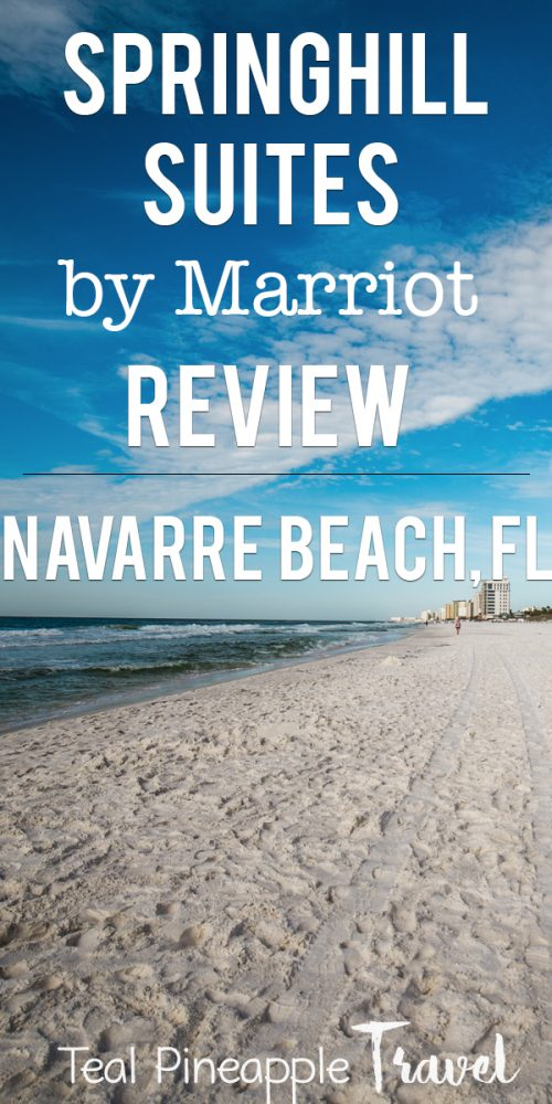 SpringHill Suites by Marriott Navarre Beach review #wheretostayinflorida #floridatravelagent #navarrebeach #navarreflorida #floridavacation