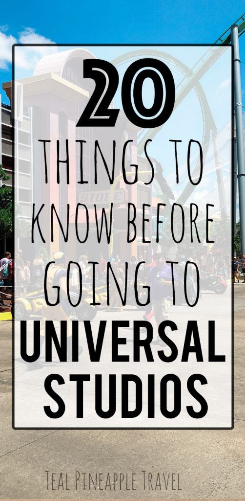 20 things to know before going to Universal Studios