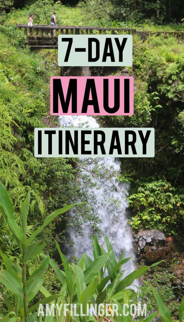 7-day Maui itinerary