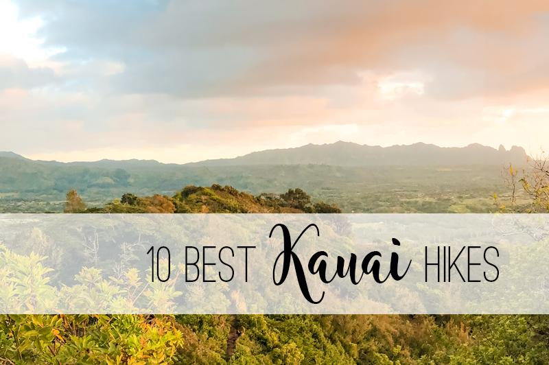 10 best Kauai hikes