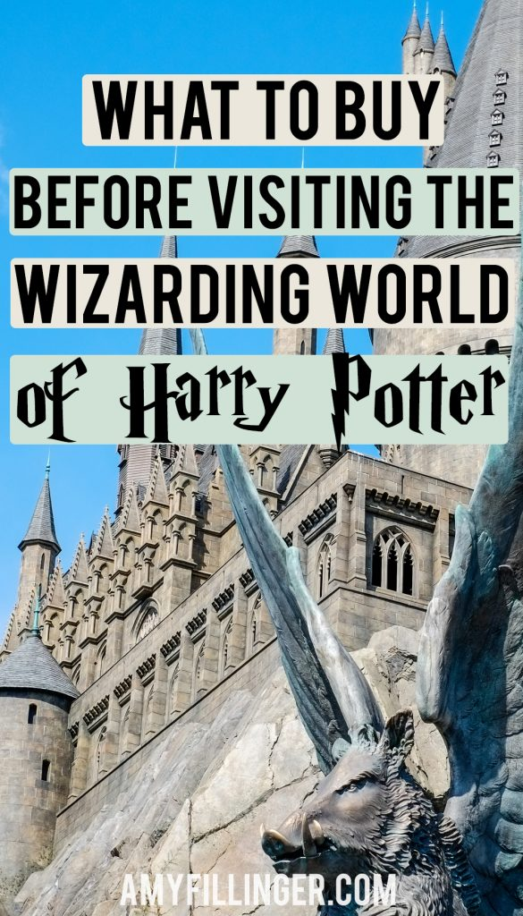 things to buy before visiting the Wizarding World of Harry Potter