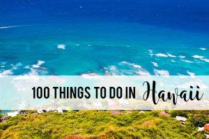 things to do in Hawaii   Hawaii bucket list