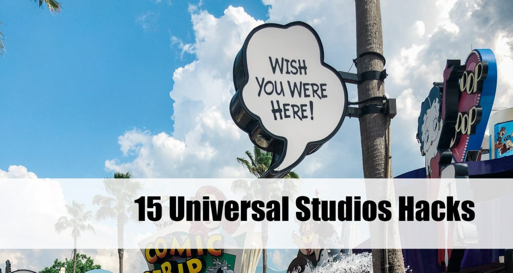 Universal Studios Hacks