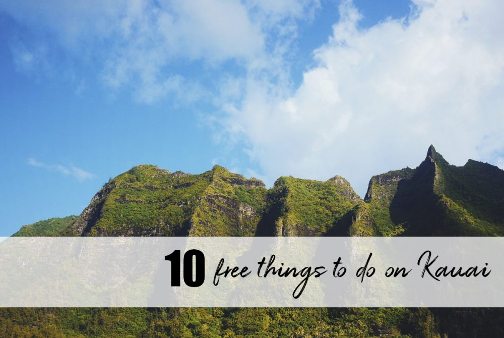 free things to do on Kauai